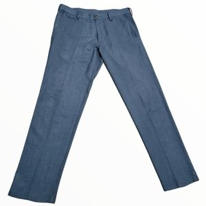 Men's navy blue dress pants 32x32 Haggar